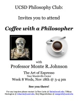 Coffee with a Philosopher